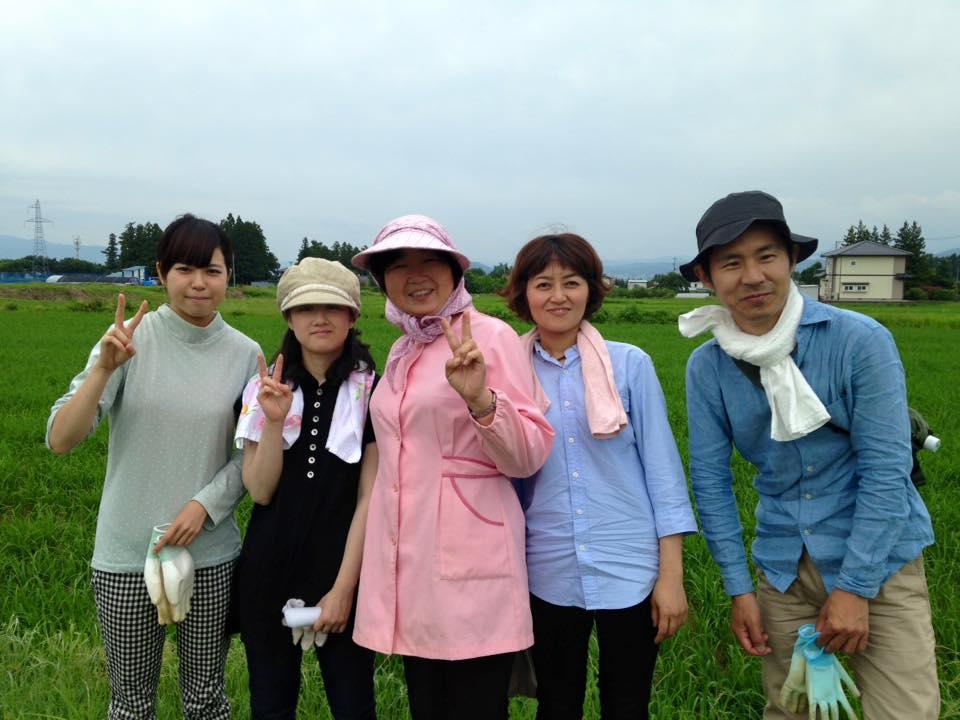 みんなの栽培日記 2015/06/26_福島市荒井の畑にて。