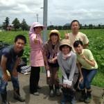 みんなの栽培日記|2015/07/17_福島市佐倉下の畑にて。