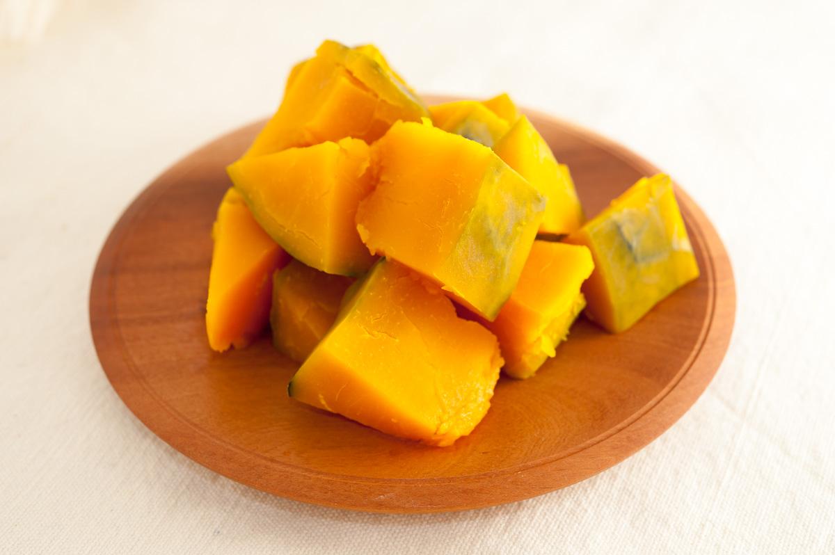 いいたて雪っ娘の美味しいレシピ|まずはシンプルに、蒸しかぼちゃ。