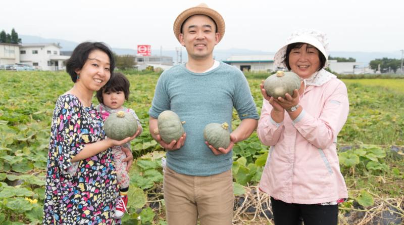 初代割烹高橋さんがかぼちゃ畑を訪問。そして、雪っ娘を使ったメニュー提供が始まりました!!